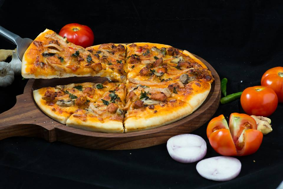 American Pizza Food Photography